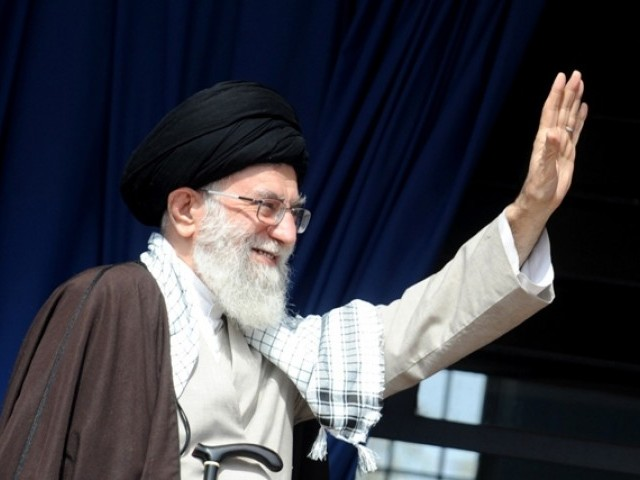 "Iran's Supreme Leader Ayatollah Ali Khamenei has warned Palestinian movement Hamas against any ""compromise"" in its fight against Tehran's nemesis Israel, his official website reported. PHOTO: REUTERS/FILE"