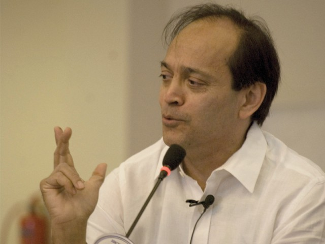 What can be said with certainty is that Vikram Seth is a charmer. PHOTO: AYESHA MIR/EXPRESS