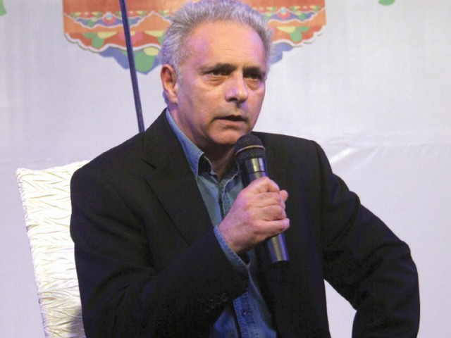Hanif Kureishi shares his experience of the Karachi Literature Festival 2012. PHOTO: ATHAR KHAN/EXPRESS
