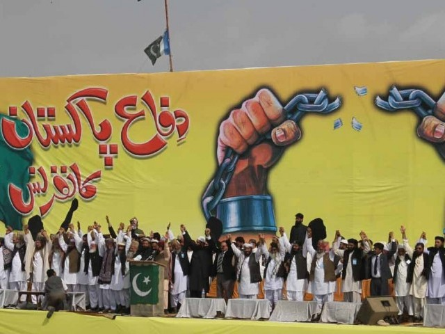 335663 DPC 1329096027 610 640x480 Difa e Pakistan Calls People to Join Long March Against Reopening NATO Supply