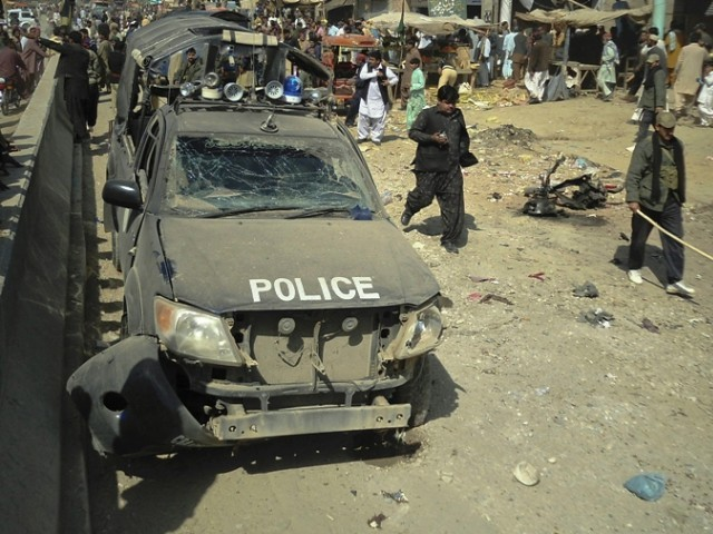 Banned militant outfit Baloch Republican Army claims responsibility for the attack. PHOTO: REUTERS