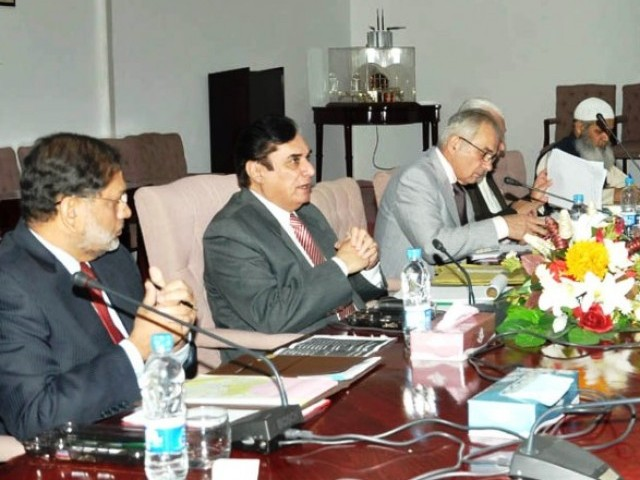 Commission interviews CDA Chairman Furkhund Iqbal and Inspector General Police Bani Amin Khan. PHOTO: PID/FILE