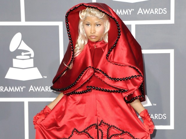 Singer Nicki Minaj has shrugged off criticism saying she has to stay true to herself. PHOTO: AFP