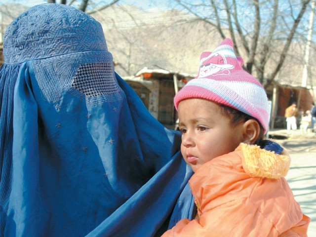 According to the study, the infant mortality rate was 77 per cent in Afghanistan and 76 per cent in Bangladesh, for the babies whose mothers had died in childbirth. PHOTO : ZAHRAH NASIR