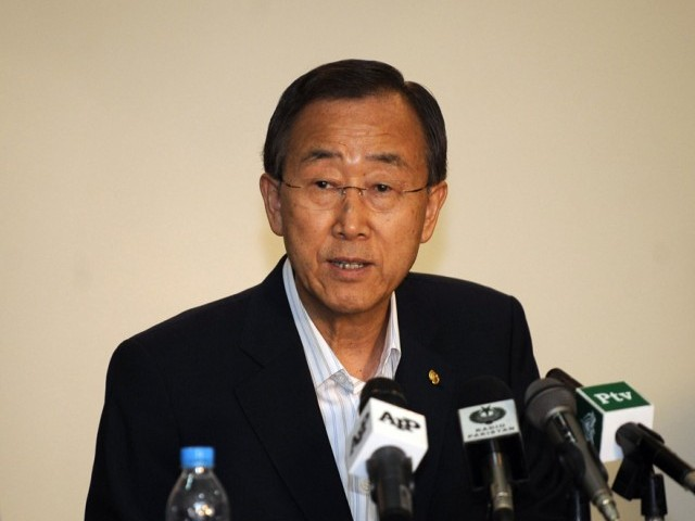 Any country opposed to signing or ratifying it is simply failing to meet its responsibilities, says Ban Ki-moon. PHOTO: AFP/FILE