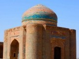 The Makli graveyard is spread around the shrine of14th century Sufi Hamad Jamali. PHOTO FARAH KAMAL