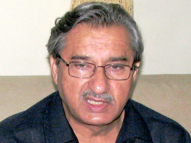 Pir Mazhar resigns amid accusations and counter accusations. PHOTO: EXPRESS/FILE