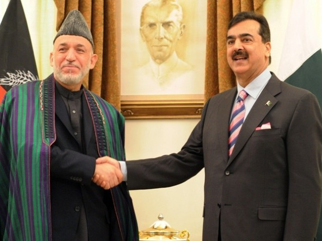 Afghan leader renews plea for support in phone call to PM Gilani; US welcomes move. PHOTO: AFP/FILE