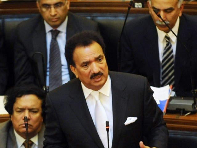 Some interesting facts have emerged from Interior Minister Rehman Malik's response to a resolution, moved by members of the Sindh Assembly. PHOTO: AFP