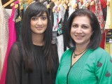 Huma and Asiya Malik.PHOTO COURTESY SAVVY PR AND EVENTS