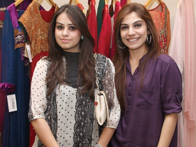 Saira and Maliha.PHOTO COURTESY SAVVY PR AND EVENTS