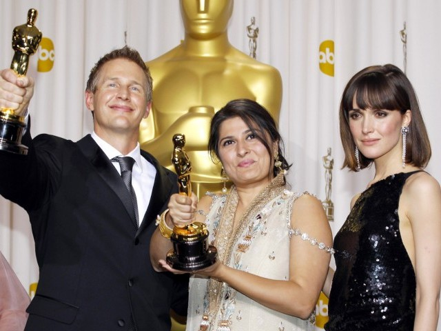 Sharmeen Obaid-Chinoy: Basking in cinematic glory since 2002. PHOTO: REUTERS