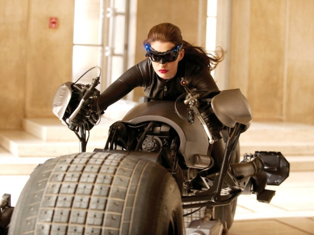 Anne Hathaway is playing Catwoman in Batman instalment The Dark Knight Rises which will be released this summer. PHOTO: FILE