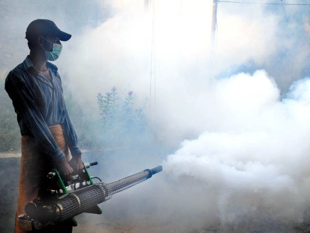 The director general said that a detailed report has been compiled on the condition of spray and fogging machines.