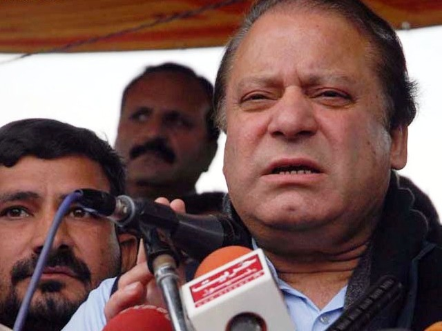 PML-N chief says his party will not attend APC till Akbar Bugti's murderers are brought to justice. PHOTO: NNI/ FILE