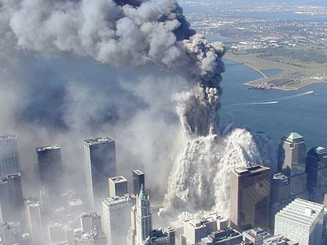 September 11, 2001, terrorist attacks against the US.  PHOTO: AFP/FILE