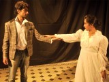 Director Uzma Sabeen, a Napa graduate, took the bold step of staging an original play based on the life of German author Franz Kafka. PHOTO: PUBLICITY