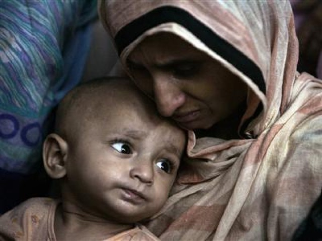 A Balochistan-based study reflects the maternal mortality ratio is significantly higher than the rest of the country with 785 deaths reported per 100,000 live births. PHOTO: REUTERS