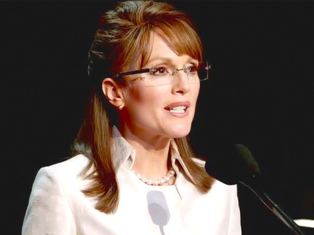 Moore's portrayal of Sarah Palin got the  industry buzzing with Emmy prediction. PHOTO: FILE