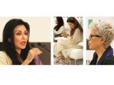 FPC's Shamaeel Ansari, Freiha Altaf, Maheen Khan and Banto Kazmi (pictured below) at Fashion Pakistan's press conference on Monday. Ansari, who is the council's chairperson said that they planned to make a big comeback with their fashion week. PHOTOS: AYESHA MIR/EXPRESS