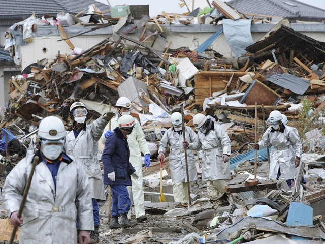 Ambassador Oe says a year after disaster Japan is now on the path towards revitalization. PHOTO: REUTERS/FILE