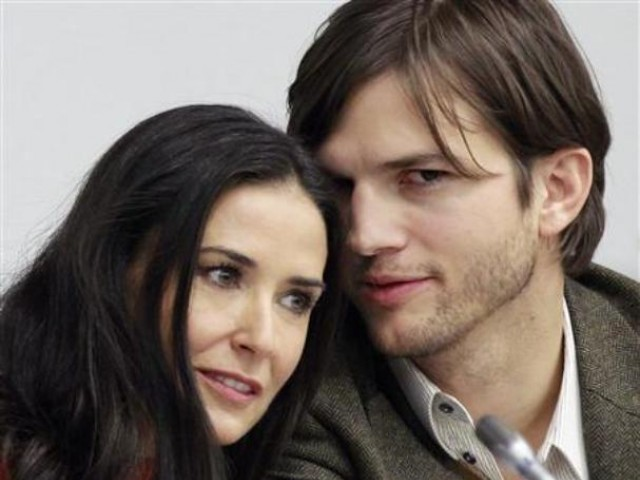The 49-year-old called time on their six-year marriage last November following allegations Kutcher had cheated. PHOTO: REUTERS