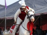 The last tent pegging competition in the city was held in 2004. PHOTO: QAZI USMAN/ EXPRESS