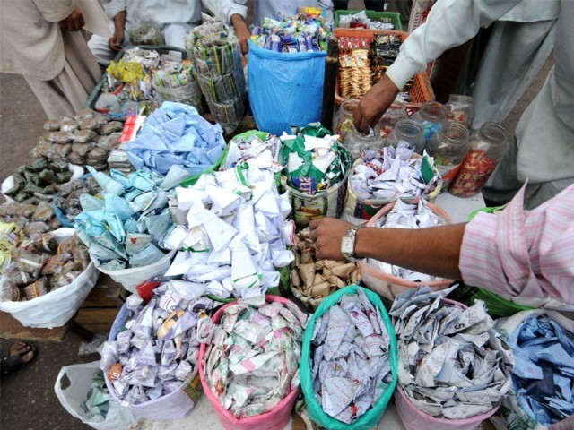Even though sale of gutka was banned in Sindh last year, its sale and consumption is still rampant.