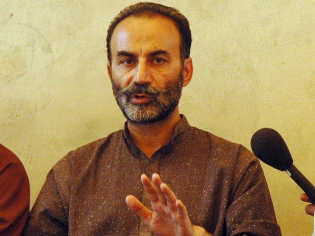 Lashkari Raisani resigns from Senate. PHOTO: PPI