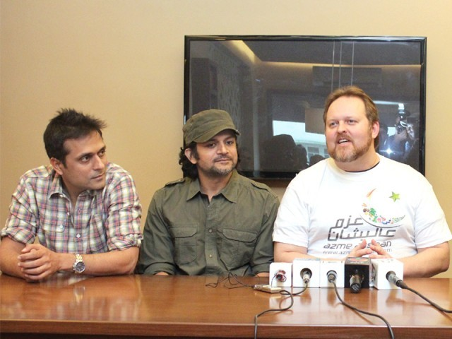 Strings and Todd Shea will perform together in Karachi. PHOTO: PUBLICITY