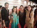 Bilal, Nida Azwer, Fatima Amer and Sanya Muskatiya.PHOTO COURTESY CATALYST PR