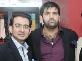 Mr Zeeshan Noorani, Mr Haseeb and Mr Faraz.PHOTO COURTESY VOILA PR