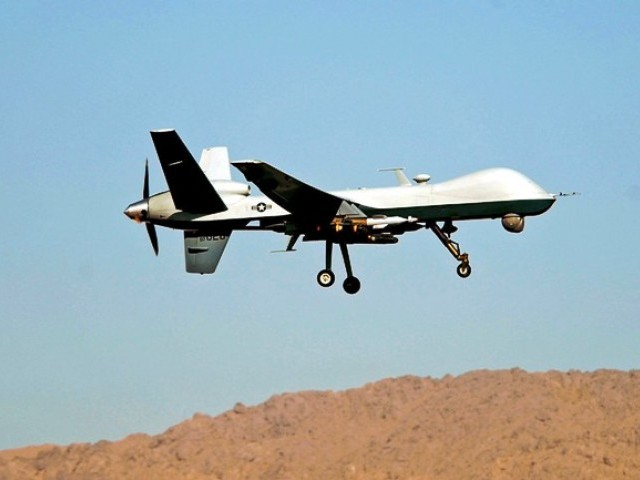 US senators also against discontinuation of drone programme. PHOTO: AFP/FILE
