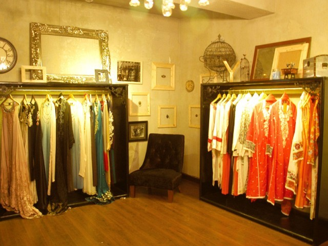 Zara Shahjahan has a unique, vintage feel and shows off the designer's personality. PHOTO: IJAZ MAHMOOD/EXPRESS