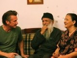 Academy Award winner Sean Penn met with iconic humanitarian worker Abdul Sattar Edhi and his wife, Bilquis Edhi (pictured below), at their home for children on Saturday. PHOTO: AYESHA MIR/EXPRESS