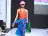 Ajai Vir Singh: The playful, brightly coloured collection of Sri Lankan-based designer Singh was inspired primarily from a beach town called Arugam Bay.