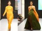 Zaheer Abbas: The designer's 'Revenge' collection, remained true to his signature style and focused primarily on femininity and timeless elegance.