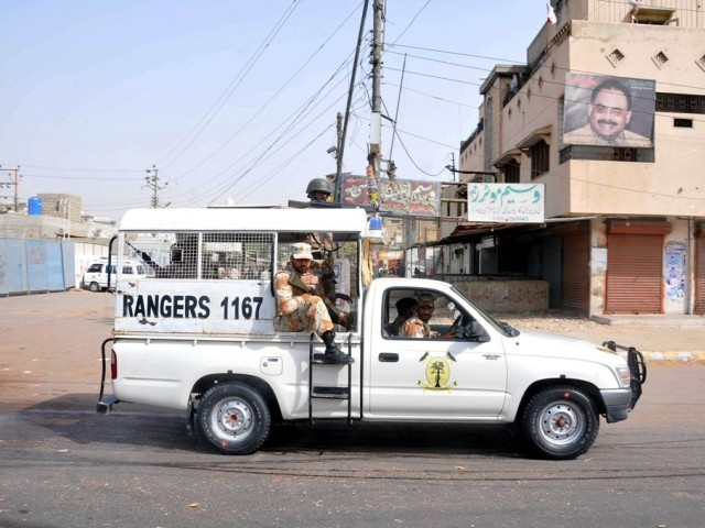 Educational institutes, petrol pumps, offices reopen after MQM's day of mourning. PHOTO: EXPRESS/ FILE