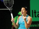 Bartoli became the first player to beat Azarenka in 2012 after the world number one's superb show this year. PHOTO: AFP