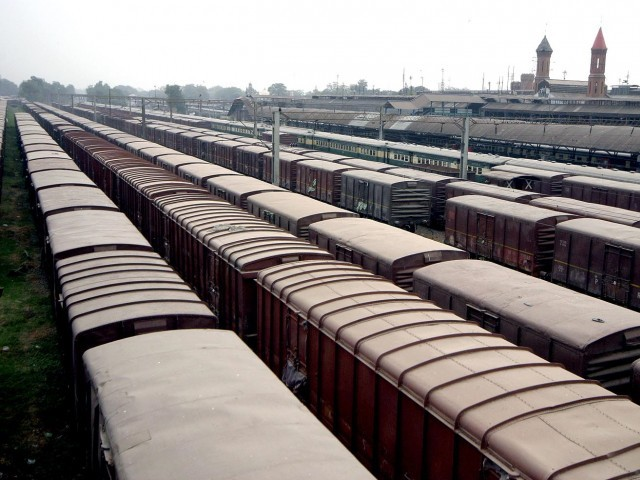 50 bogies imported from China for the Karakoram Express were added to the fleet of Pakistan Railways (PR) on Friday. PHOTO: INP/FILE
