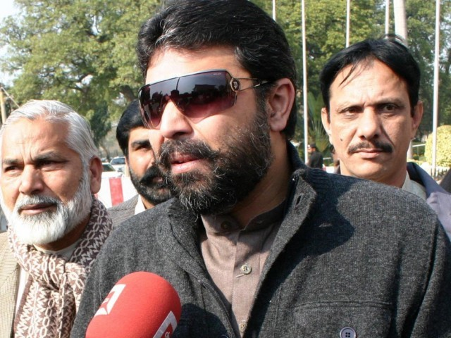 Dost Muhammad Khosa, in his application for registration of FIR, claims that Sapna's family - Missal Khan, Muhammad Ameen, Faisal Khan, and Hina Khan – had abducted her to blackmail him since he also had a daughter from Sapna. PHOTO: EXPRESS/ FILE