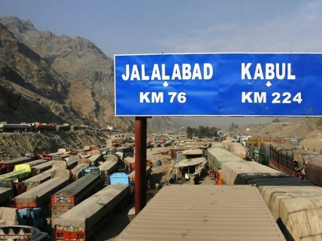 According to the National Highway Authority (NHA), Nato containers use the N-5 National Highway from Karachi to Torkham and N-25 from Karachi to Chaman, when supplying goods to forces stationed in Afghanistan. NHA estimates put the damage caused to the country's infrastructure by Nato trucks at close to Rs120 billion. PHOTO: REUTERS