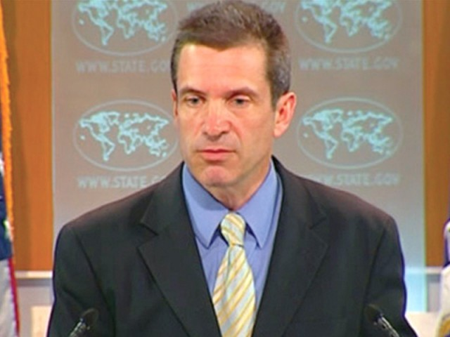 State Department spokesperson says US engaging Pakistan government at all levels. PHOTO: FILE