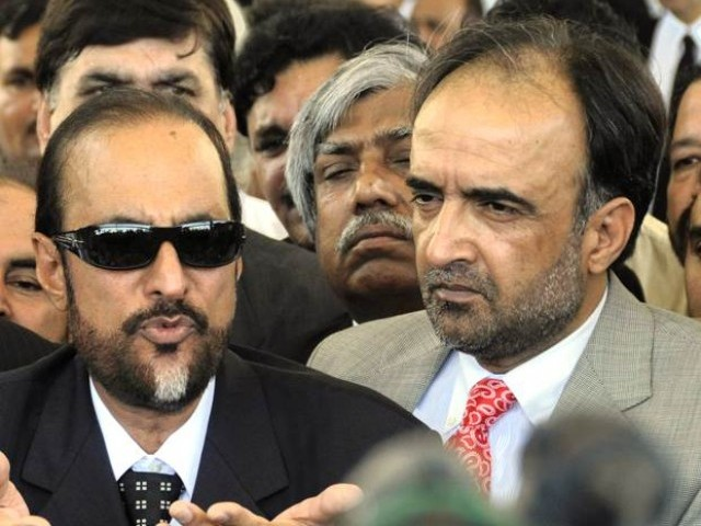 Qaman Zaman Qaira replaces Babar Awan in PCNS. PHOTO: AFP/FILE