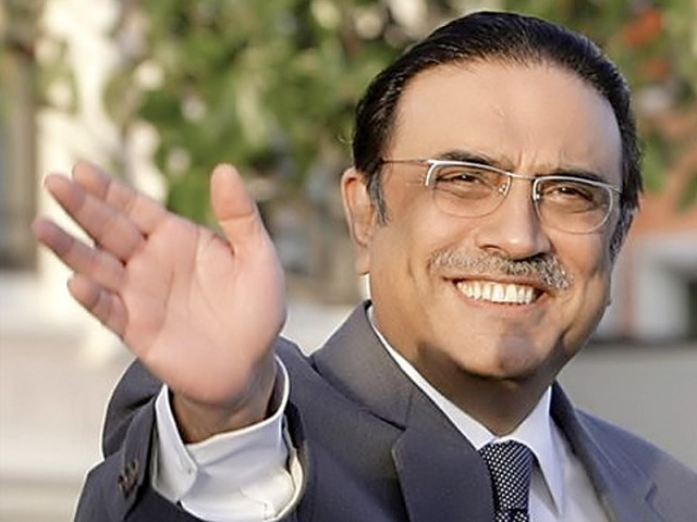 Indian media reports that Zardari will visit Ajmer to pay respects at Khwaja Moinuddin Chisti's shrine. PHOTO: EXPRESS/FILE