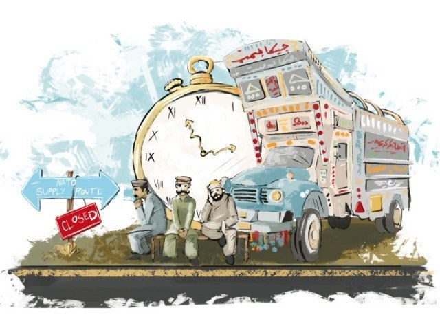 Transporters say that calls against resuming supplies  will wither away. ILLUSTRATION: JAMAL KHURSHID