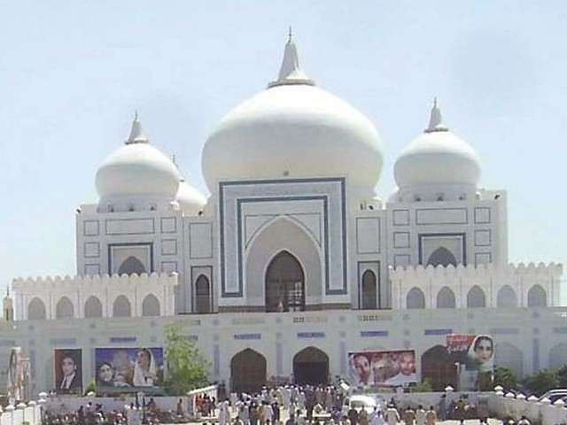 Larkana is buzzing with Bhutto fever. PHOTO: EXPRESS