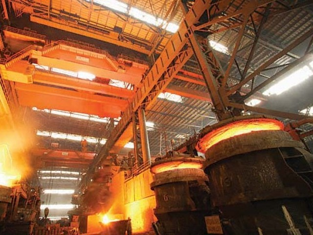 PSM said that KESC has caused the country's largest steel factory to shut down. PHOTO: FILE