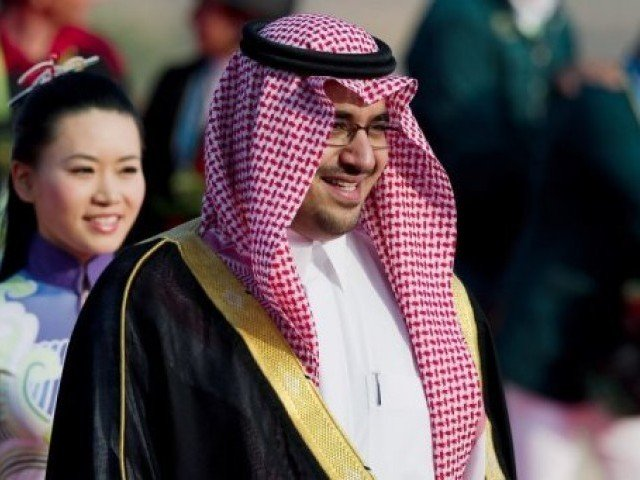 Saudi Arab's Prince Nawwaf al-Faisal ruled out the possibility of active women's teams in the country. PHOTO: AFP