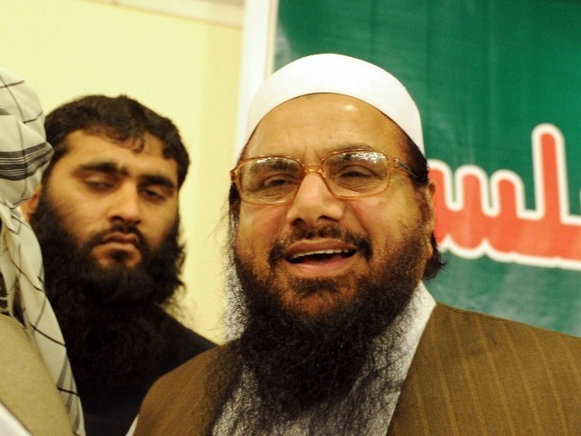 JuD leader says US is even afraid of his name. PHOTO: AFP/ FILE